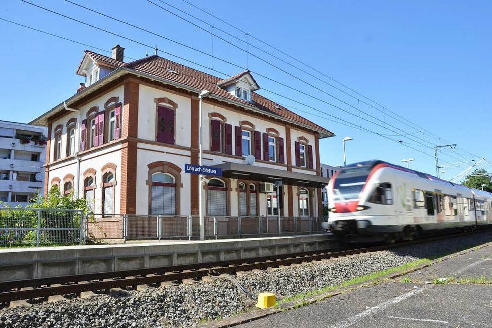 Bahnhof Stetten - Lörrach