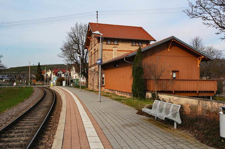 Bahnhof Oberrotweil - Vogtsburg
