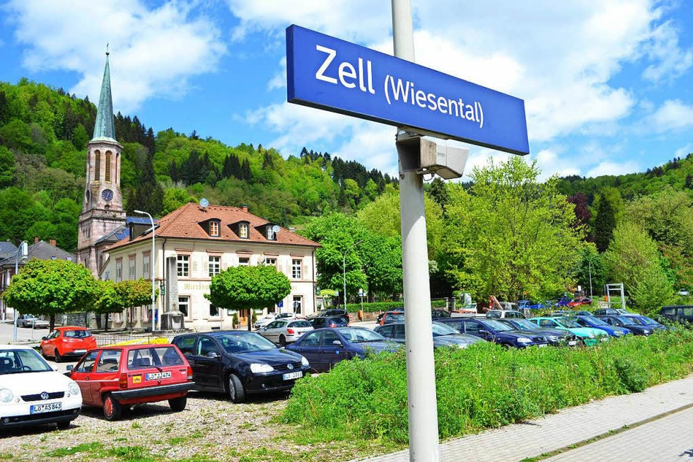 Bahnhof - Zell im Wiesental