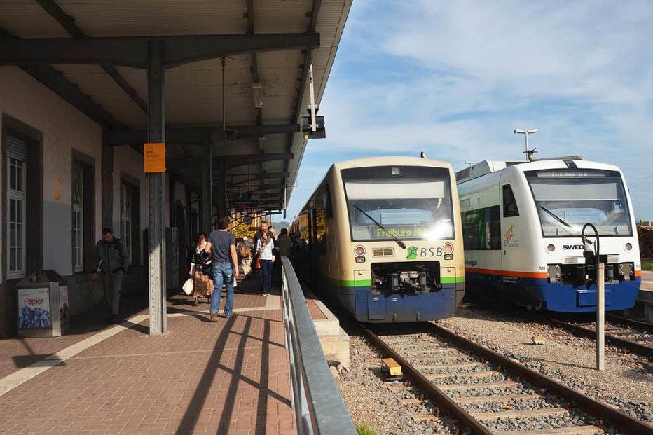 Bahnhof - Breisach