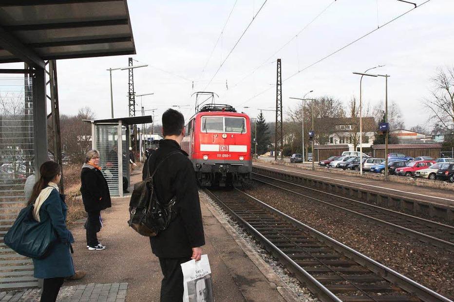 Bahnhof - Riegel