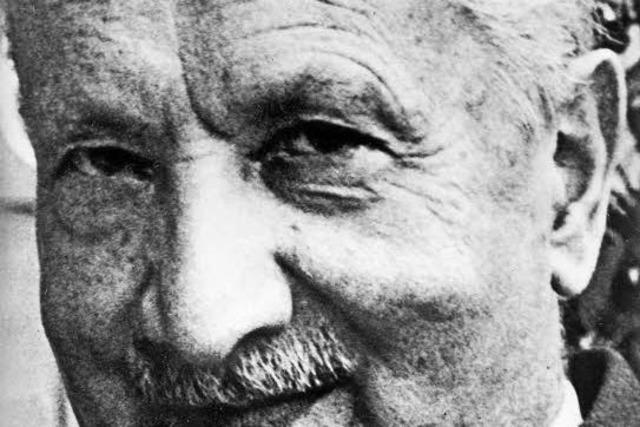 Der Philosoph Dieter Thomä spricht über den Philosophen Martin Heidegger