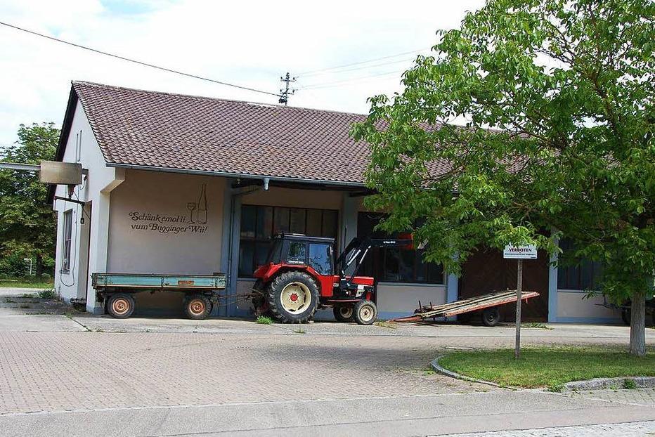Kelterhalle (abgerissen) - Buggingen