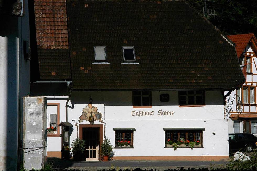Gasthaus Sonne (Wieslet) - Kleines Wiesental
