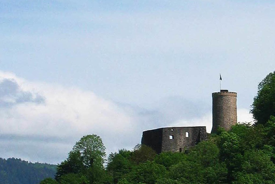 Burgruine Husen - Hausach