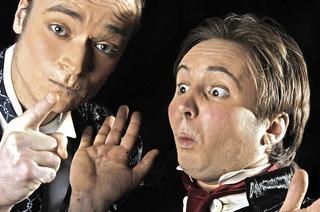 """Clownduo Alex und Joschi """"Scherz mit Herz"""" im Vorderhaus"""