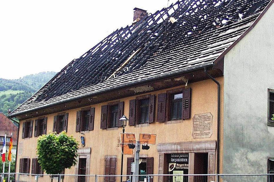 Gasthaus Krone (geschlossen) - Schönau