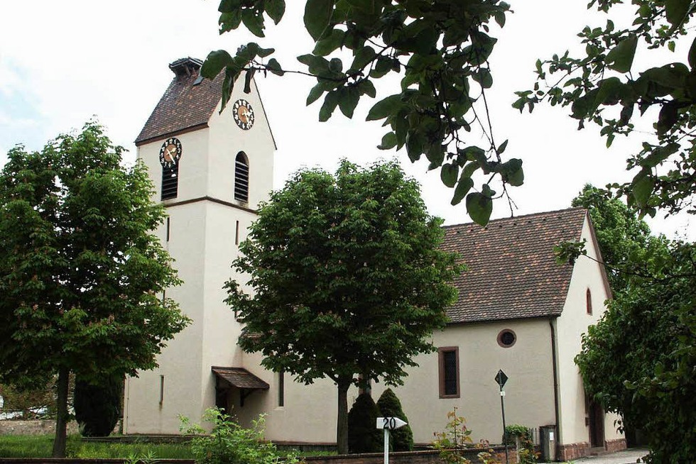 Ev. St. Nikolaus-Kirche (Märkt) - Weil am Rhein