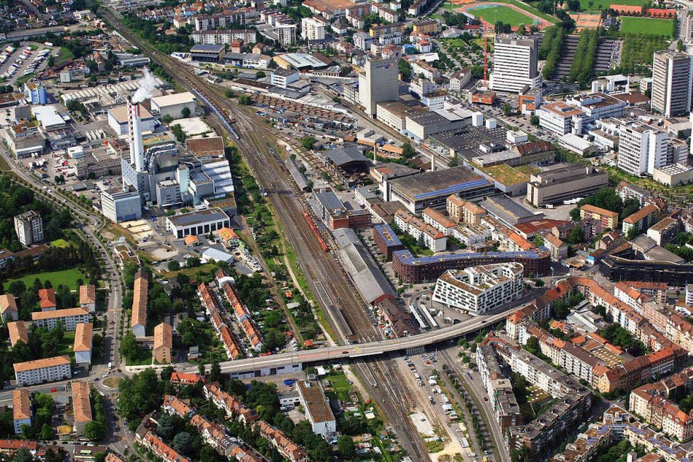 Güterhalle Bahnhof St. Johann - Basel
