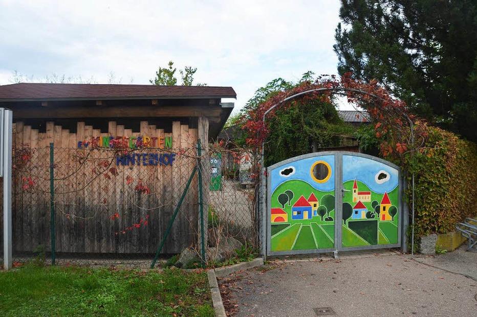 Ev. Kindergarten Hinterhöf - Ihringen