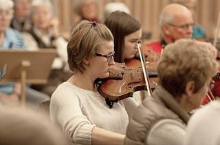 Aufführung mit der Kantorei, Collegium musicum und Solisten
