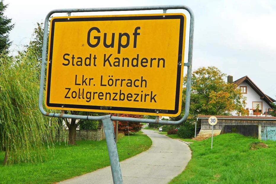 Ortsteil Gupf - Kandern