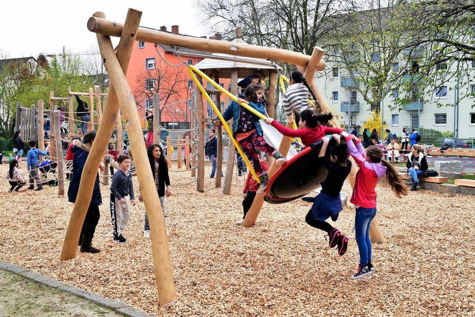 Spielplatz Offenburger Straße - Freiburg