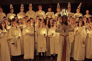 Chor des Skandinavischen Instituts in Gutach-Bleibach