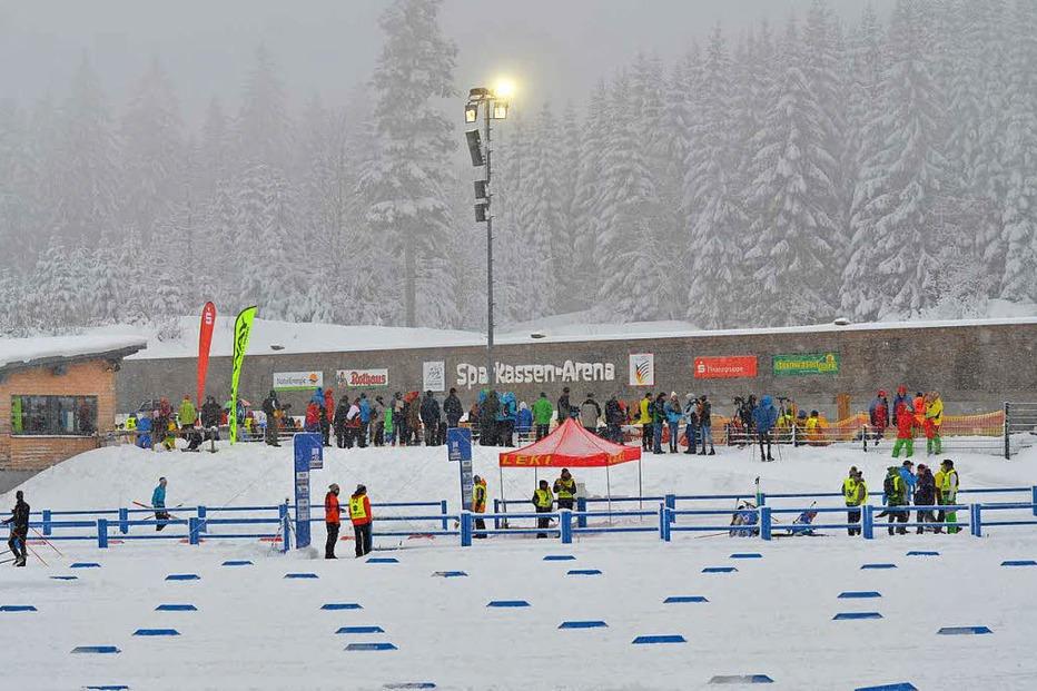 Biathlonanlage am Notschrei - Todtnau