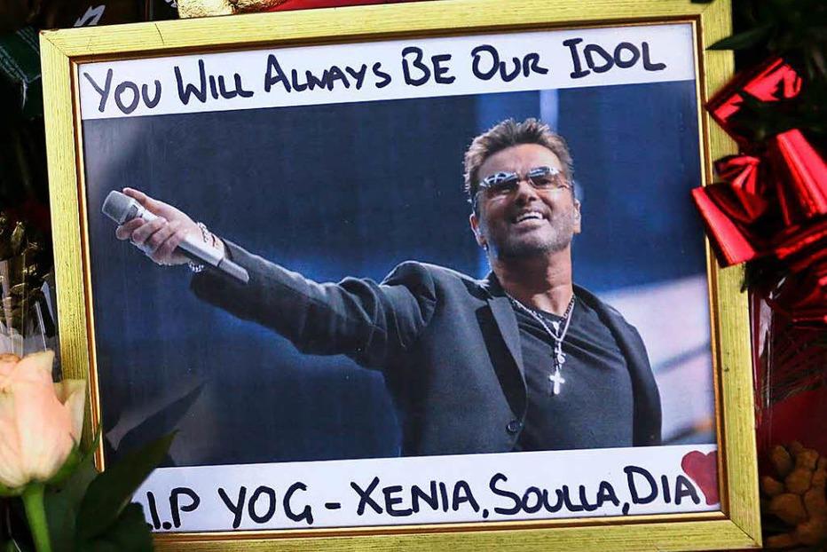 Fotos: Fans trauern um den verstorbenen George Michael