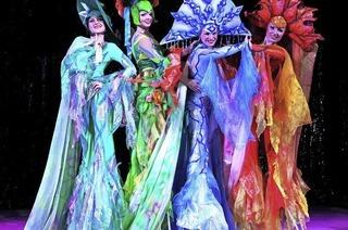 Artistik, Musik und prachtvolle Kostüme lassen die Herzen der Zuschauer höher schlagen