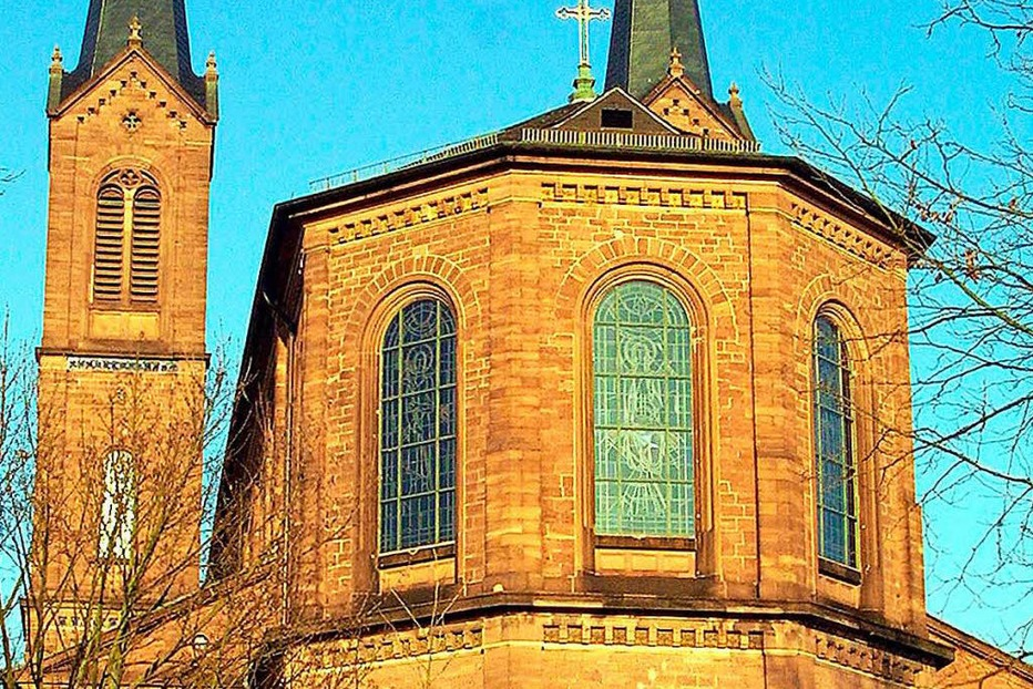 Kath. Kirche St. Peter und Paul Lahr - Lahr