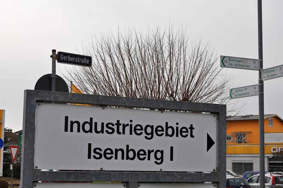 Gewerbegebiet Isenberg - Breisach