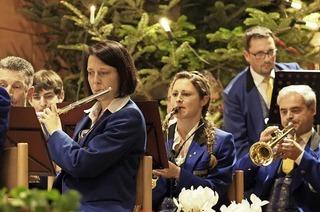 Musikverein Buchenbach spielt in der Sommerberghalle in Buchenbach