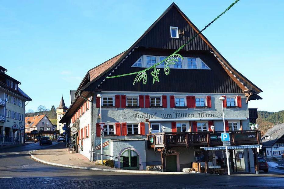 Gasthaus zum Wilden Mann (geschlossen) - Lenzkirch