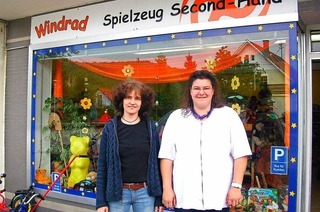 Spielzeug Second-Hand-Laden Windrad