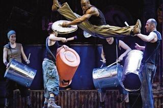 "Rhythmus-Performance ""Stomp"" ist im Musical Theater Basel zu sehen"