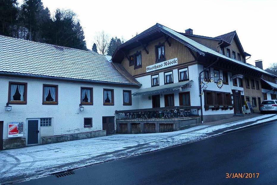 Gasthaus Zum Rössle (geschlossen) - Aitern