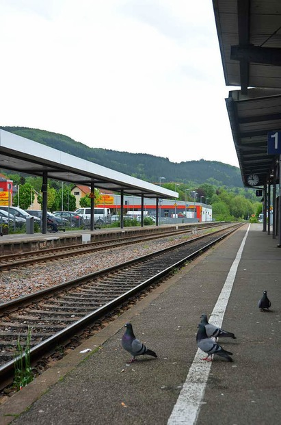 Bahnhof - Bad Säckingen