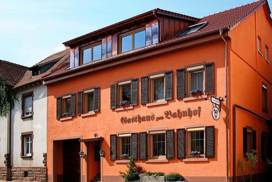 Gasthaus zum Bahnhof - Bahlingen