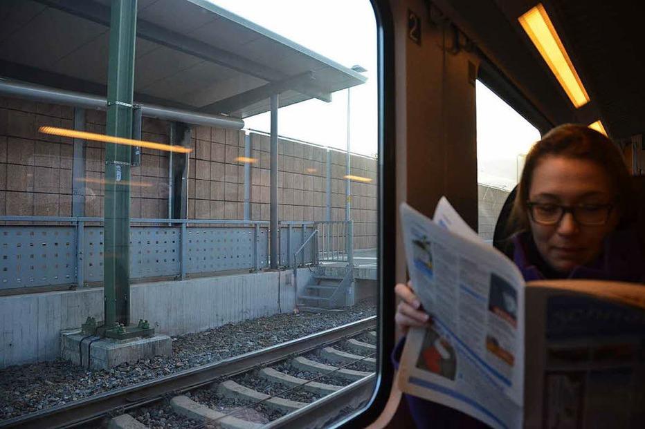 Bahnhof - Eimeldingen