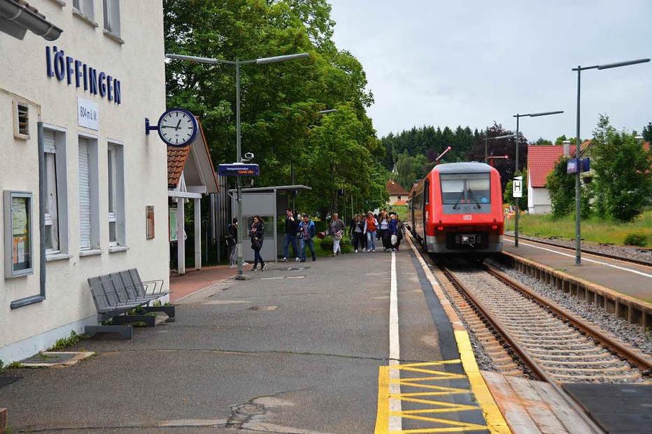 Bahnhof - Löffingen