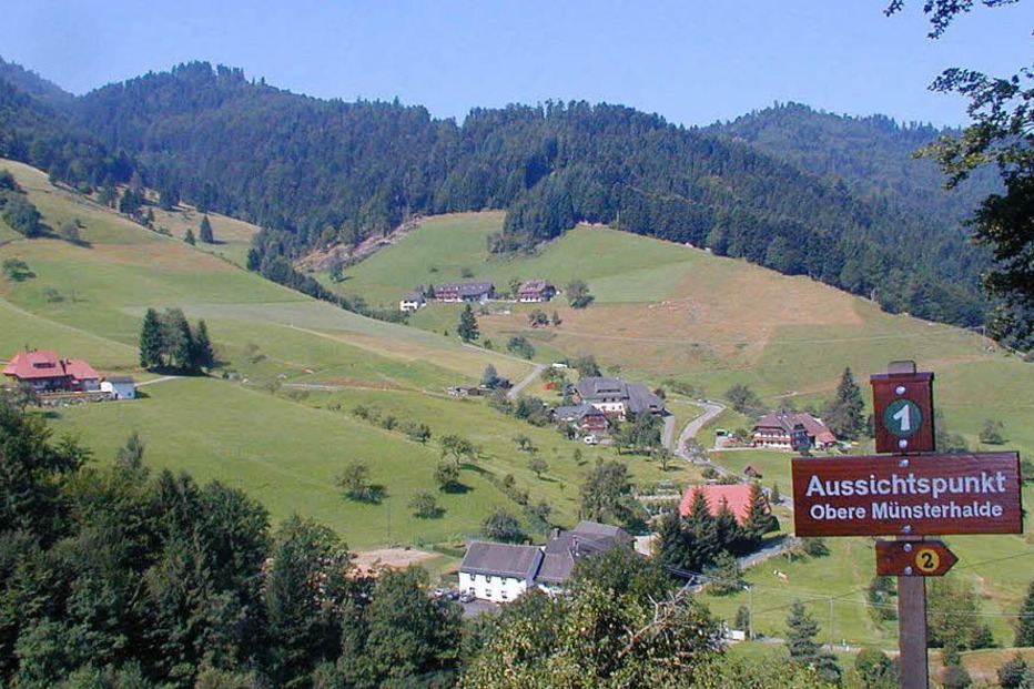 Ortsteil Münsterhalden - Münstertal