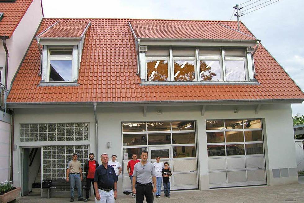 Feuerwehrgerätehaus Nimburg - Teningen