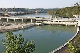 Rundgang im Wasserkraftwerk Rheinfelden