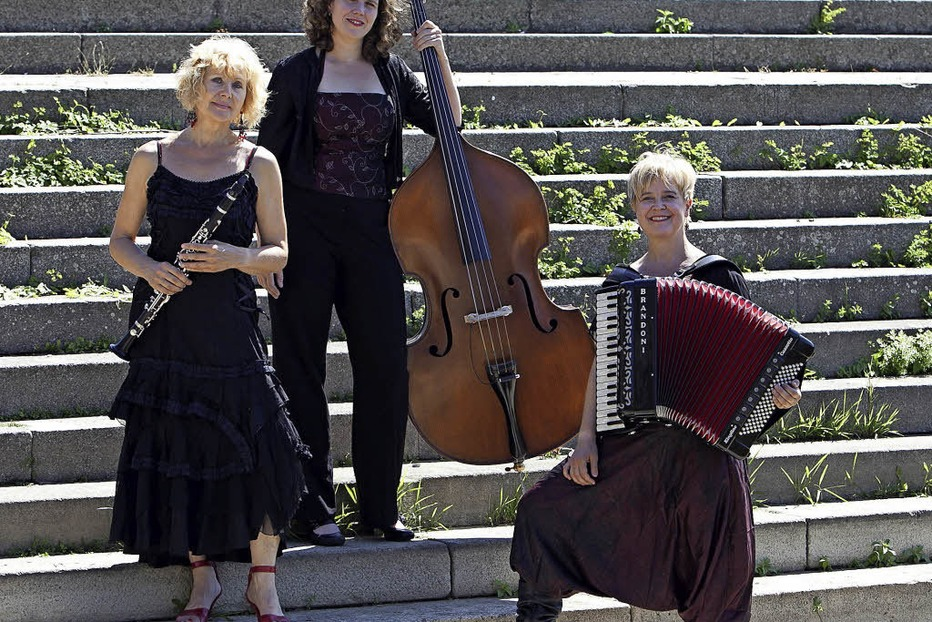 Jüdische Musik mit Klezmers Techter im Schlössle Heiligenzell - Badische Zeitung TICKET