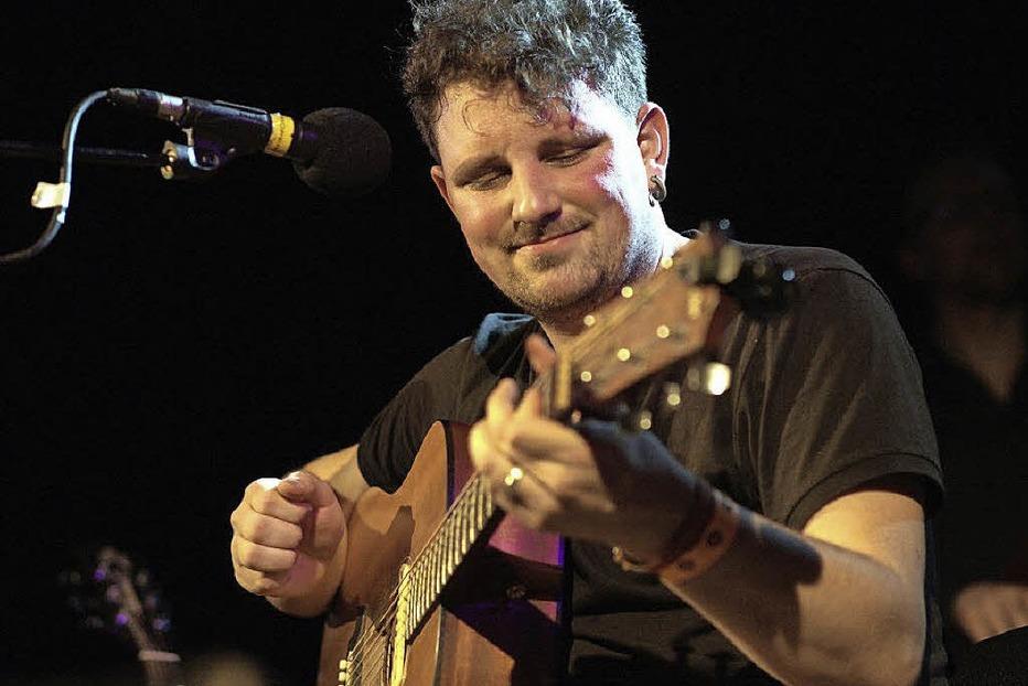 Matt Woosey Band im Rock-Café - Badische Zeitung TICKET