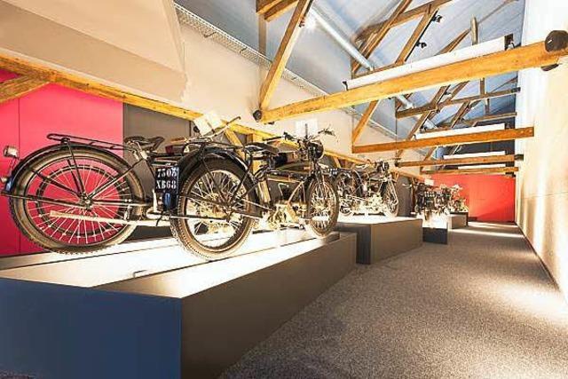 Motorradmuseum la Grange à Bécanes