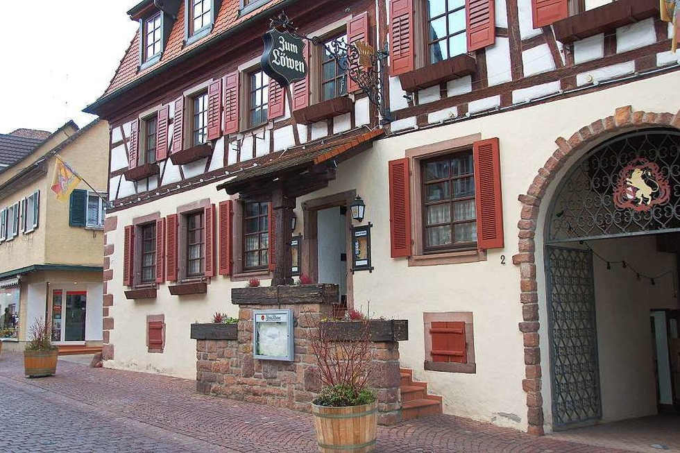 Gasthaus Löwen (geschlossen) - Ettenheim