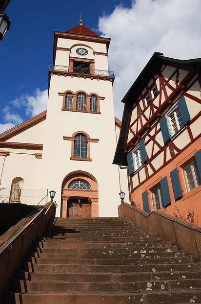 Heilig-Kreuz-Kirche Münchweier - Ettenheim