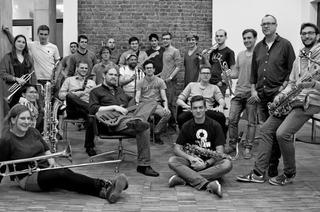 Uni Big Band Freiburg mit Psycho & Plastic im Jazzhaus