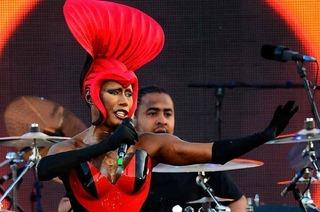 Grace Jones kommt zum Stimmen-Festival nach Lörrach