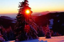 Fotos: So schön leuchtet der Feldberg im Winter