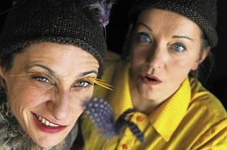"""Theater Kunstdünger mit """"Die Prinzessin kommt um vier"""" im Vorderhaus"""