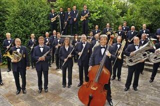 Das Landespolizeiorchester spielt im Kurhaus Bad Krozingen