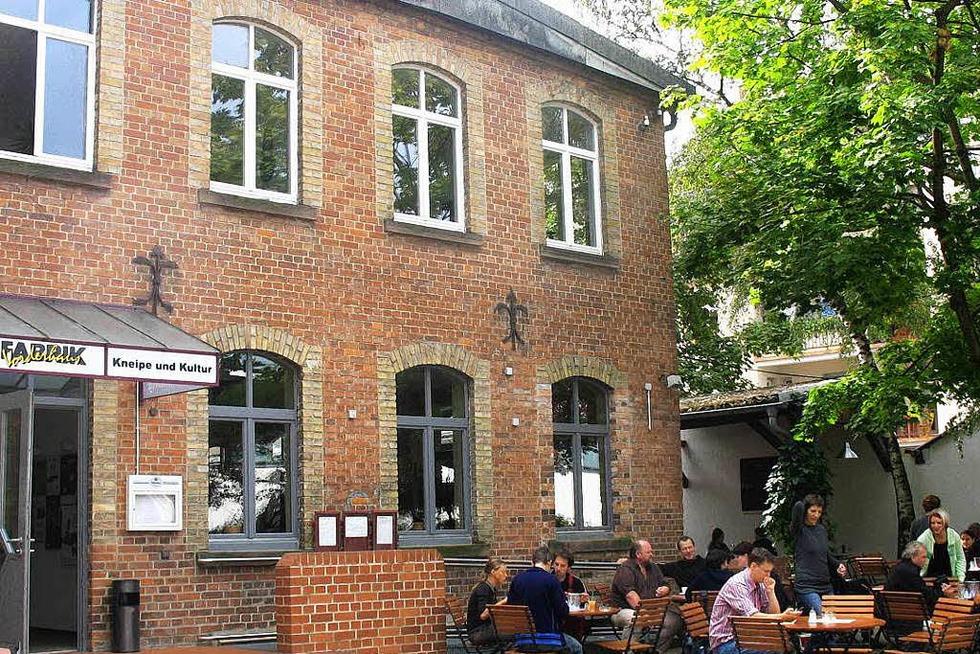Vorderhaus der Fabrik - Freiburg