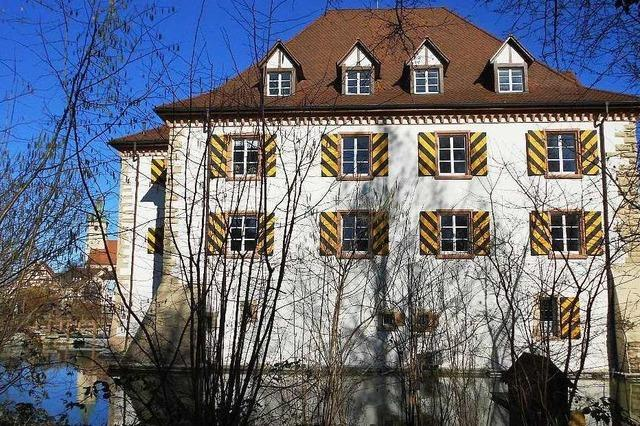 Wasserschloss Entenstein (Rathaus)