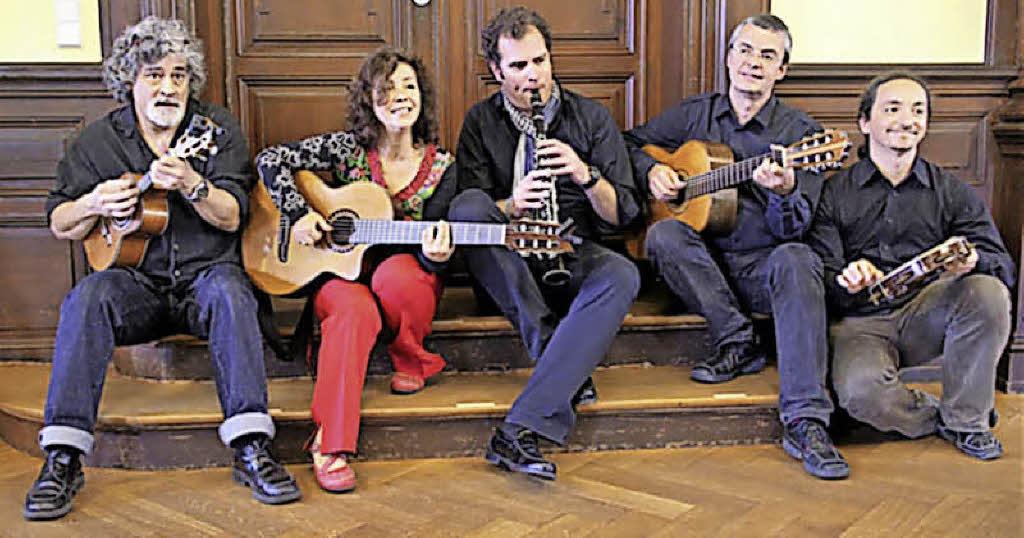 konzert die grupo brasileirinho spielt brasilianische musik im haus 37 in freiburg badische. Black Bedroom Furniture Sets. Home Design Ideas