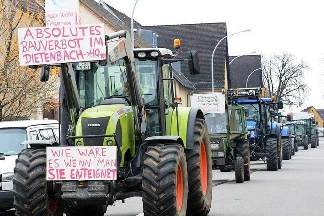 Dietenbach-Bauern gründen Bürgerinitiative