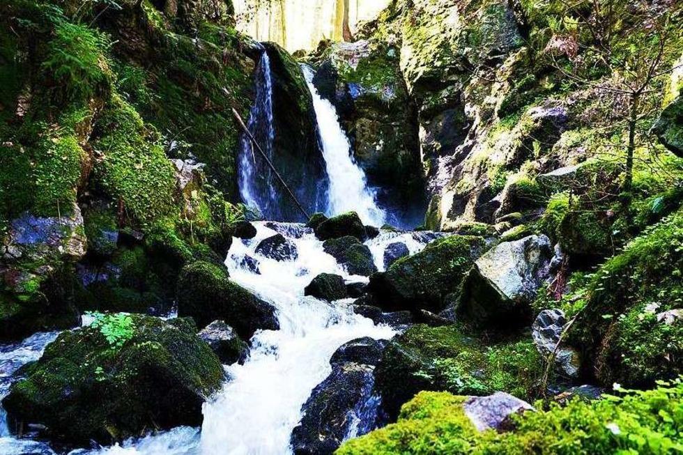 Wasserfall Strahlbrusch - Rickenbach